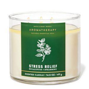 Bath & Body Works Aromatherapy Stress Relief Eucalyptus & Spearmint