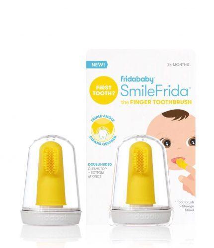 Bàn chải đầu ngón tay tốt nhất cho bé FridaBaby