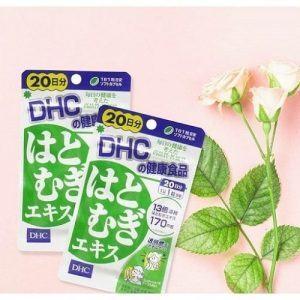 Viên uống trắng da của Nhật DHC