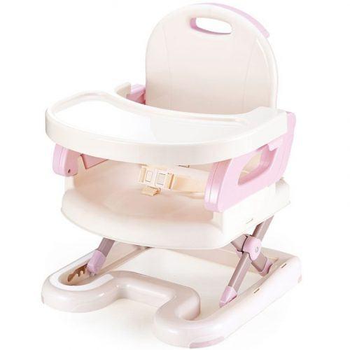 Ghế ăn Mastela màu hồng