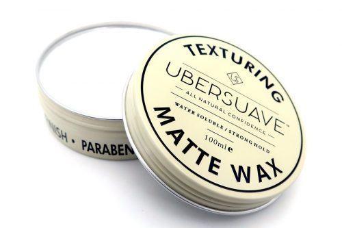 Ubersuave Texturing Matte Wax
