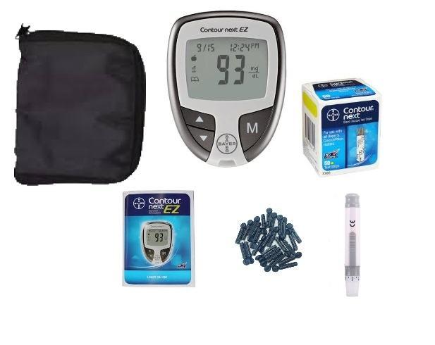 Bộ xét nghiệm tiểu đường Bayer Contour NEXT EZ