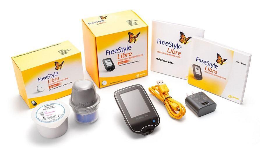 Máy đo đường huyết Freestyle Libre Abbott không cần lấy máu
