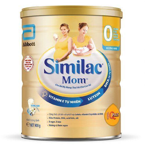 Sữa bột Similac Mom IQ 900g