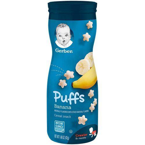 Bánh ăn dặm Gerber Graduate Puffs Banana