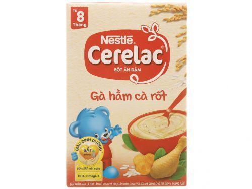 Ngũ cốc ăn dặm Nestle Cerelac