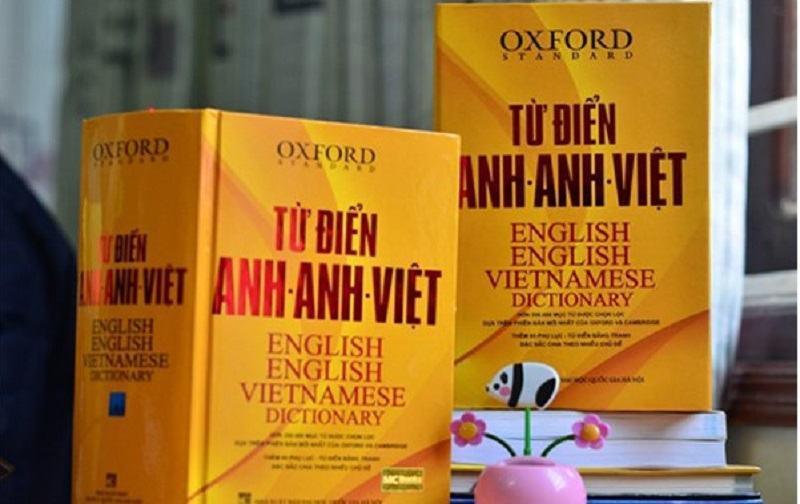 Từ Điển Oxford Anh – Anh – Việt (Bìa vàng): 350.000 từ