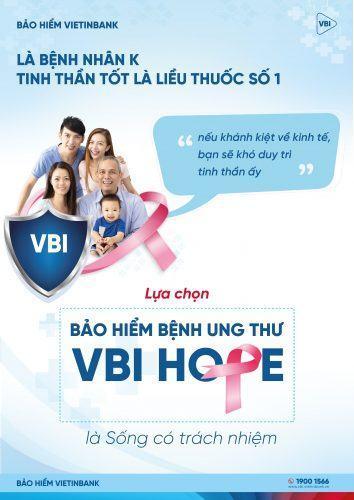 Bảo hiểm ung thư VBI Hope