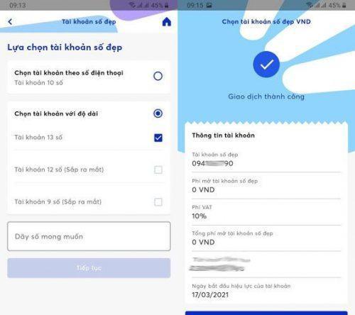 Cách mở tài khoản trên app mb bank