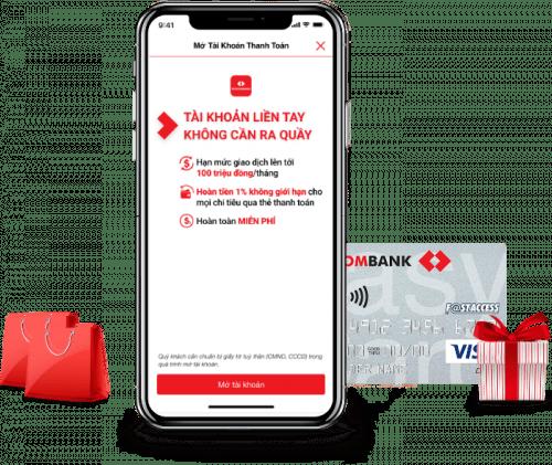 Mở tài khoản Techcombank trực tuyến