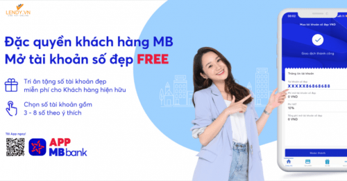 Ưu điểm khi mở tài khoản số đẹp trên app mb bank