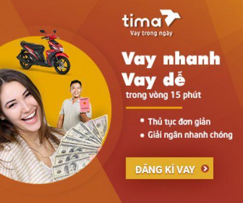 Ưu điểm khi vay tiền Tima