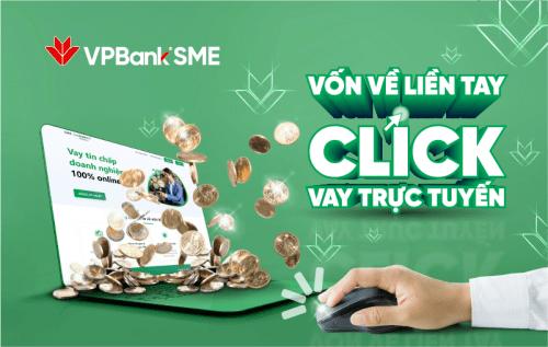 Vay nhanh trên ứng dụng VPbank