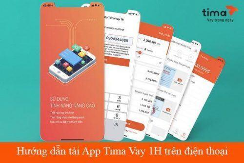 Các bước vay tiền trên app