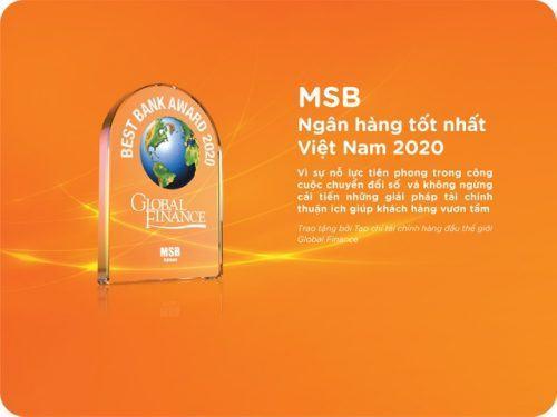 Những thành tựu của MSB