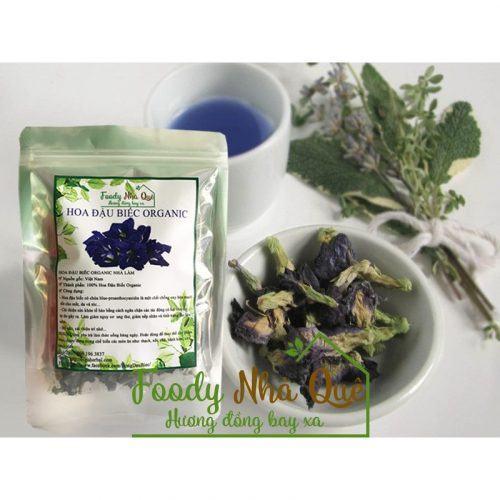 Trà hoa đậu biếc Organic Foody Nhà Quê