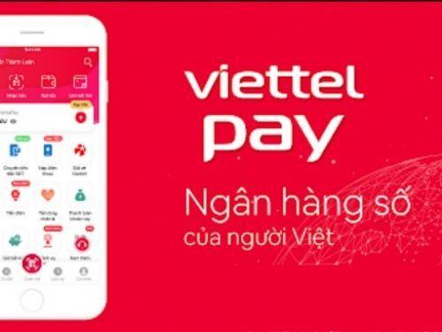 Ứng dung ViettelPay
