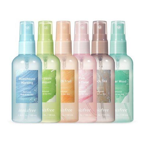 Xịt thơm Innisfree Perfumed Body & Hair Mist